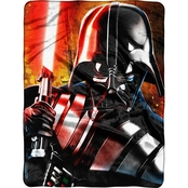 Northwest Star Wars Classic Master of Evil High Definition Silk Touch Throw