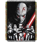 Northwest Star Wars Rebel Storm Woven Tapestry Throw
