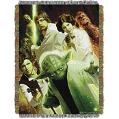 Northwest Star Wars Small Rebel Force Woven Tapestry Throw