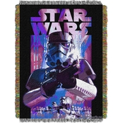 Northwest Star Wars Storm Ahead Woven Tapestry Throw