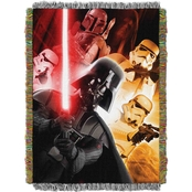 Northwest Star Wars The Empire Woven Tapestry Throw
