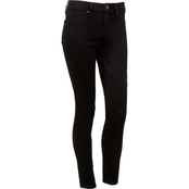 YMI Juniors 9IN Mid Rise Skinny Jeans