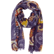 Colorplay Paisley Oblong Scarf