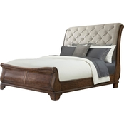 Klaussner Trisha Yearwood Collection Dottie Sleigh Bed