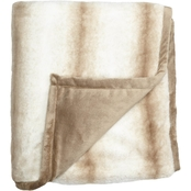 Fraiche Maison 50 x 60 Faux Rabbit Fur Throw
