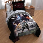 Jay Franco and Sons Lucas Films Star Wars Episode 8 Epic Twin Comforter