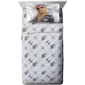 Jay Franco and Sons Lucas Films Star Wars Episode 8 Epic 3 Pc. Twin Sheet Set