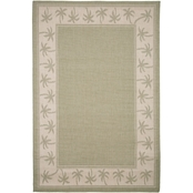 Lavish Home Palm Tree Indoor/Outdoor Area Rug