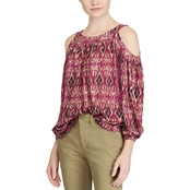 Lauren Ralph Lauren Petite Kazlas Cutout Shoulder Top