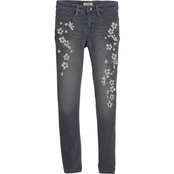 Squeeze Girls Embroidered Blossom Jeans