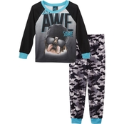 Jelli Fish Kids Boys Just Awesome 2 Pc. Sleep Set