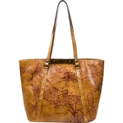 Patricia Nash Signature Map Benvenuto Convertible Tote