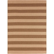 Karastan Riviera Stripe Woven Indoor/Outdoor Area Rug
