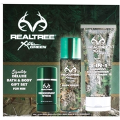 Realtree for Him Bath & Body Set