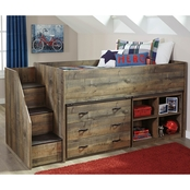 Signature Design by Ashley Trinell Loft with Bookcase and Drawers