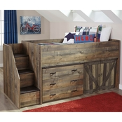 Signature Design by Ashley Trinell Loft with Drawer Storage