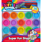 Cra-Z-Art Super Rainbow Color Dough Pack, 30 pc. Set