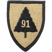 Army Patch 91st Division Exercise Velcro (OCP)