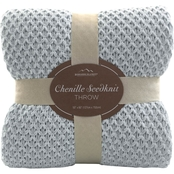 Berkshire Blanket & Home Co. Chenille Seed Knit Throw