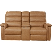 Bassett Club Level Regency Power Loveseat