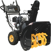 Poulan Pro 24 in. Two Stage Electric Start 208cc Gas Snow Blower