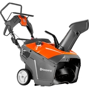 Husqvarna 21 in. Single Stage Electric Start 208cc Gas Snow Blower