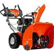 Husqvarna 24 in. Two Stage Electric Start 208cc Gas Snow Blower