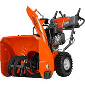Husqvarna 27 in. Two Stage Electric Start 254cc Gas Snow Blower with Power Steering