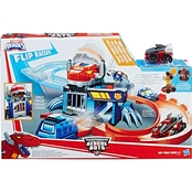 Playskool Transformers Rescue Bots Flip Racers Chomp and Chase Raceway
