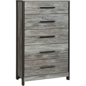 Signature Design by Ashley Cazenfeld 5 Drawer Chest