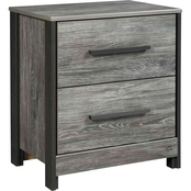 Signature Design by Ashley Cazenfeld 2 Drawer Nightstand