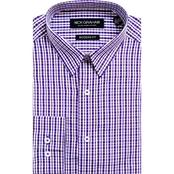 Nick Graham Modern Fitted Check Dress Shirt
