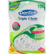 DenTek Triple Clean Floss Picks 150 ct.