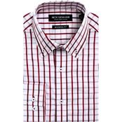 Nick Graham Modern Fit Windowpane Dress Shirt
