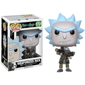 Funko POP Rick and Morty: Weaponized Rick Figure No. 172