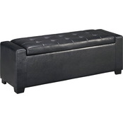 Signature Design by Ashley Upholstered Storage Bench