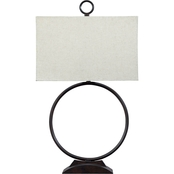 Signature Design by Ashley Fayth Metal Table Lamp, Bronze Finish, Contemporary