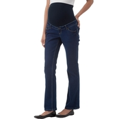 New Recruit Maternity Over Belly Stretch Denim Boot Cut Jeans