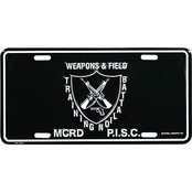 Marine Corps Recruit Depot Parris Island South Carolina License Plate