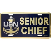 Mitchell Proffitt U.S. Navy Senior Chief License Plate