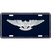 Mitchell Proffitt U.S. Navy Air Warfare Insignia License Plate