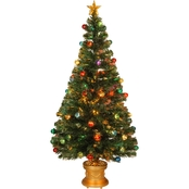 National Tree Company 60 In. Fiber Optic Evergreen Tree