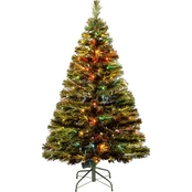 National Tree Company 48 in. Fiber Optic Radiance Fireworks Tree LED Folding Stand