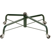 National Tree Company Folding Tree Stand with Rolling Wheels