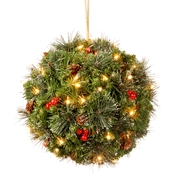 National Tree Company 12 In. Crestwood Spruce Kissing Ball