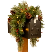 National Tree Company 36 In. Colonial Mailbox Swag