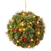 National Tree Company 16 In. Crestwood Spruce Kissing Ball