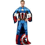 Northwest Captain American Frist Avenger Adult Comfy Throw