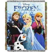 Northwest Disney Frozen Fun Woven Tapestry Throw