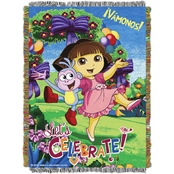 Northwest Dora Celebrate Dora Woven Tapestry Throw